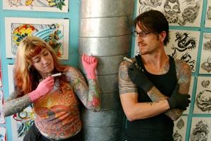TIE: Southside Tattoo\'s Chris Gunn, Karen Slafter - Best Tattoo ...