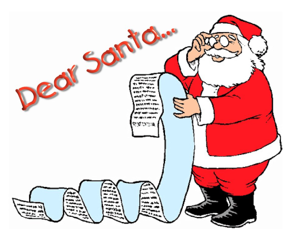 oh santa santa won t you sit on my face a wish list of sorts