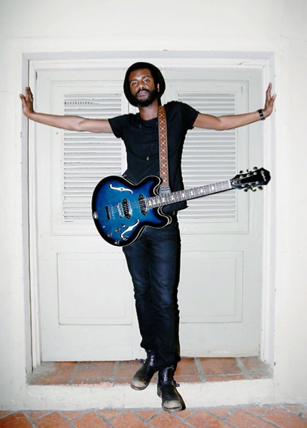 Gary Clark Jr. last year in San Antonio for his Maverick Festival.