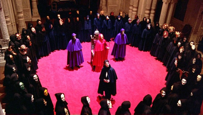 Orgy scene from eyes wide shut