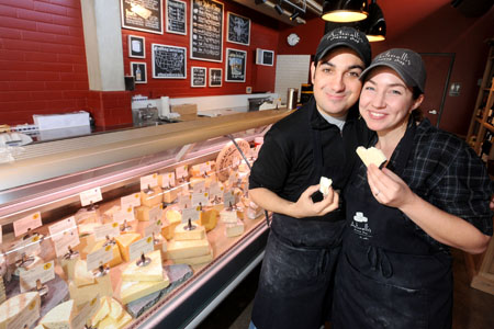 A Portrait Of The Cheesemonger As A Young Couple Antonelli S Cheese