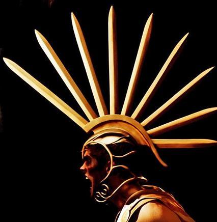 Immortals Gods Helmet Tarsem's Divine Design...