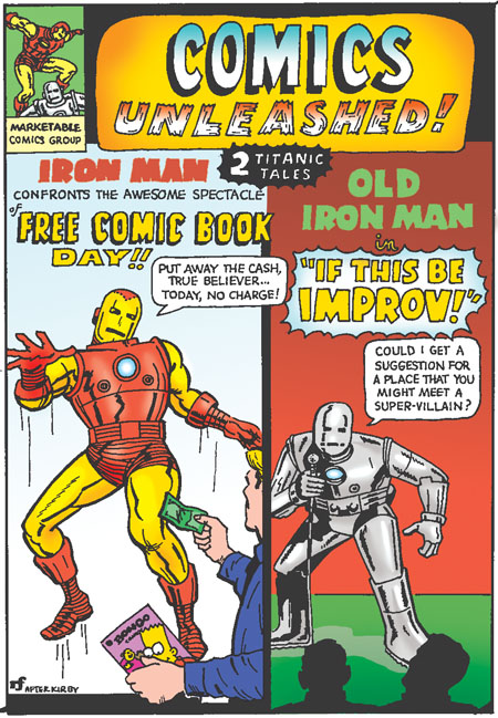 First, Free Comic Book Day, and Then – Ka-Baam!! Comic books and ...