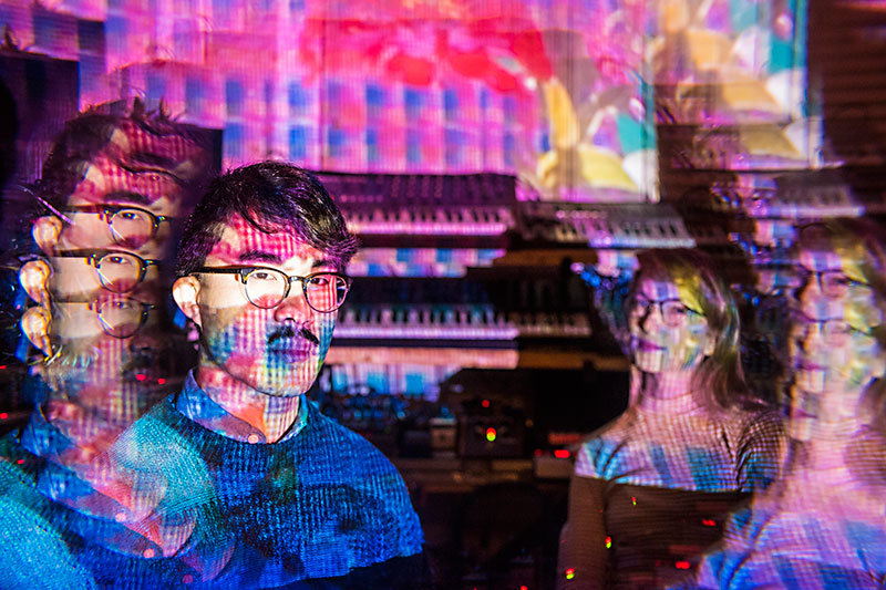 Peter Tran's Spiraling Soundscapes: Modular synthesist moves