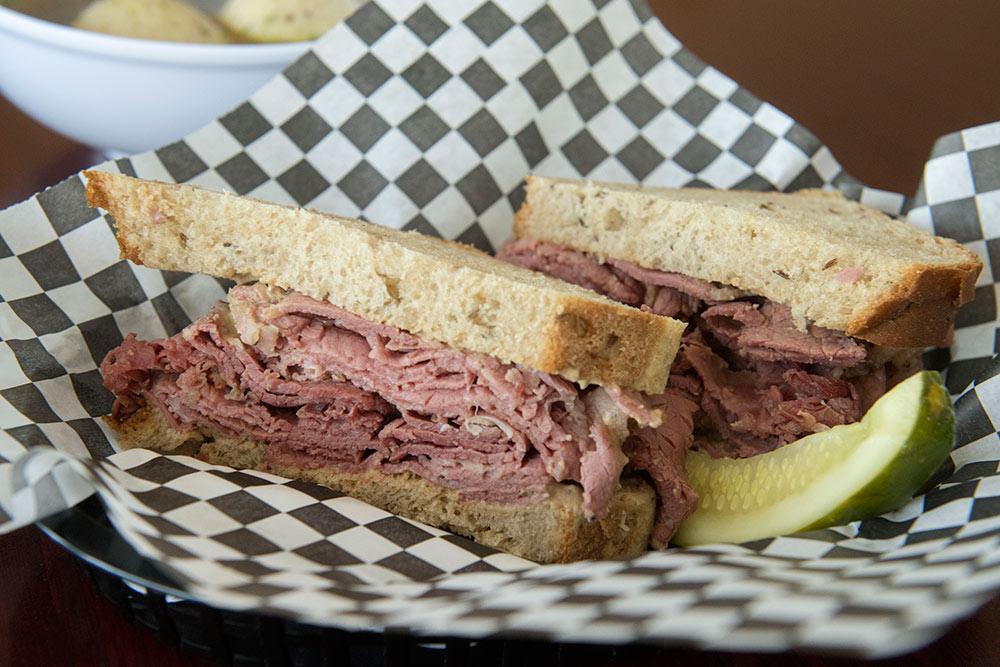Deli Sandwich Jewish North