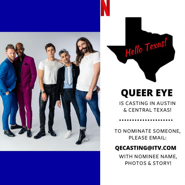 Queer Eye Is Casting In Austin Supposedly Is This Your Chance To Receive A Make Better From The Fab Five Qmmunity The Austin Chronicle