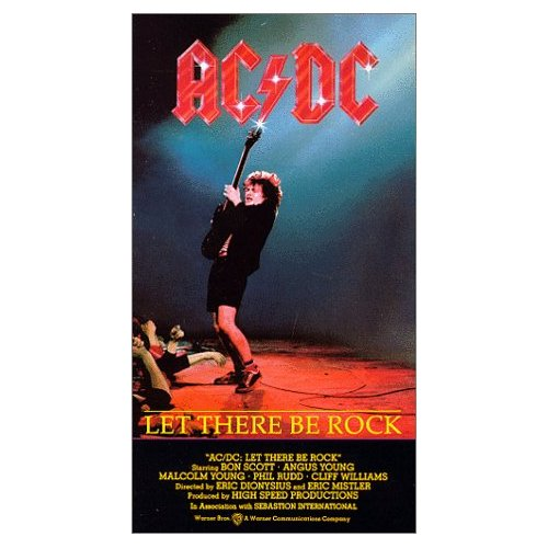 Bad Boy Boogie Let There Be Rock Pronounced Ac Dc On
