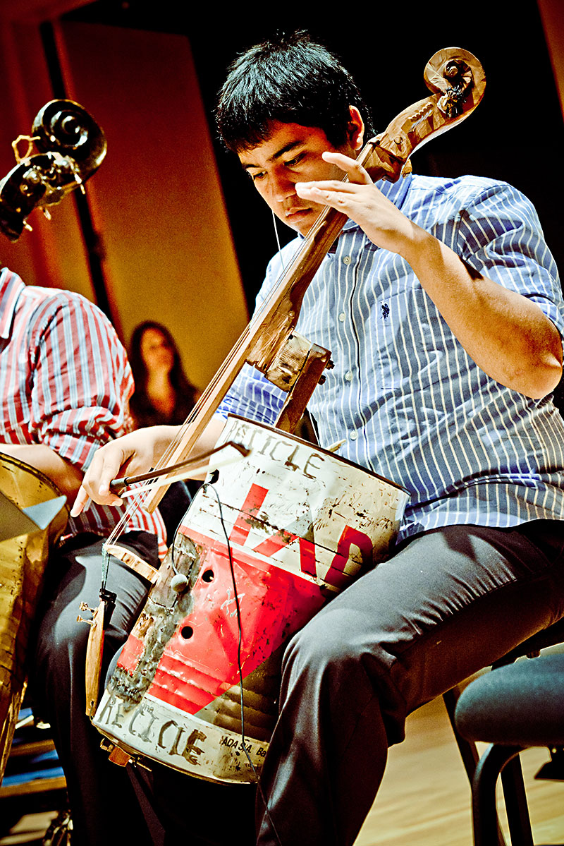 paraguayan youth band turns trash into treasure from the