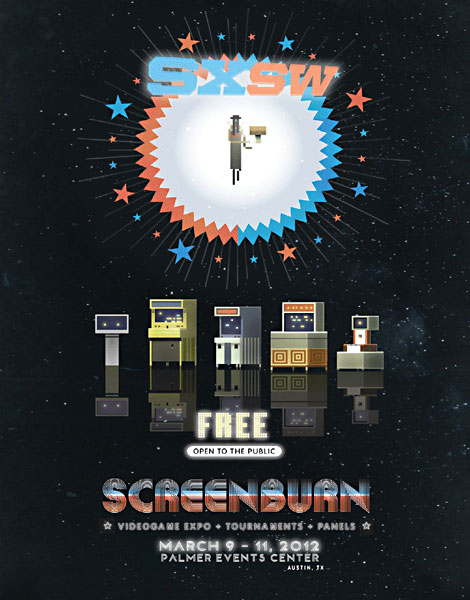 South by Southwest ScreenBurn Arcade