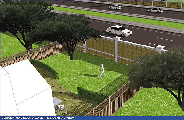Noise Over MoPac: Neighbors Object to 'Sound Wall' - News