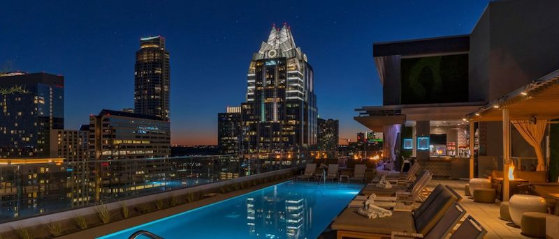 Eight Swanky Hotel Pools in Austin That Are Open to the