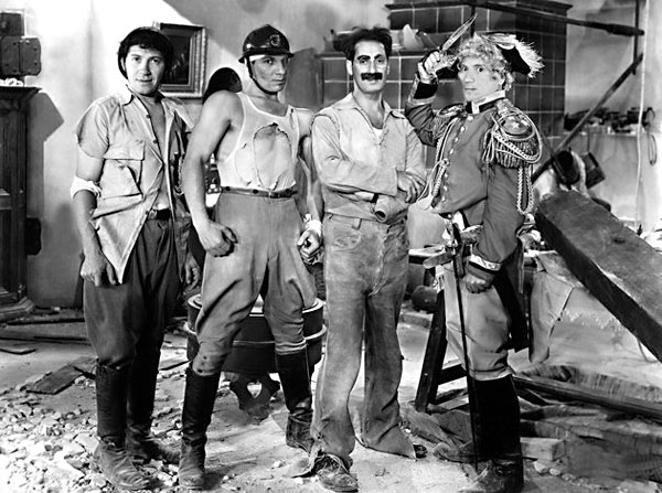 summer fun 2013 duck soup 1933 four marx brothers