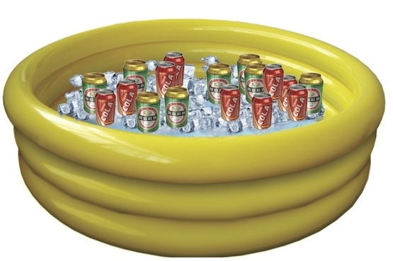 Coolers Are Cool But You Know Whatu0027s Cooler? An Inflatable Pool. Plastic  Coolers Only Come In A Few Sizes And The Big Ones Can Be Quite Costly.