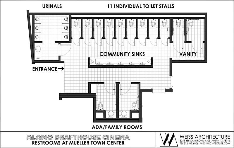 Gender Neutral Toilets Plan.Gender Neutral Toilet Design