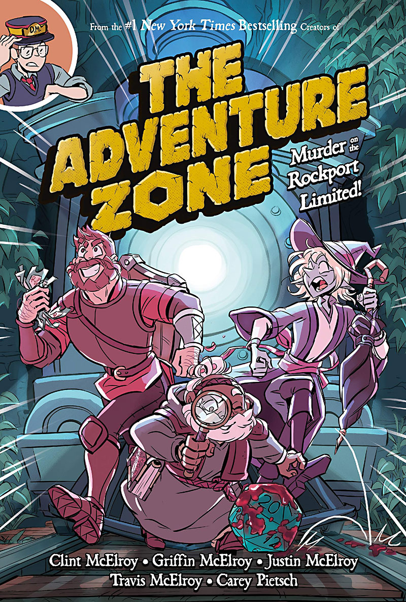 Book Review The Adventure Zone Murder On The Rockport