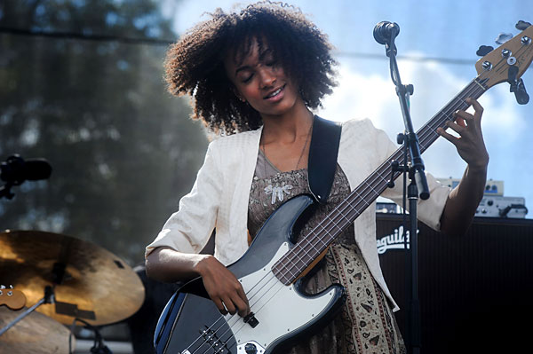 ACL Music Fest - Review: ACL Live Shot: Esperanza Spalding - Music