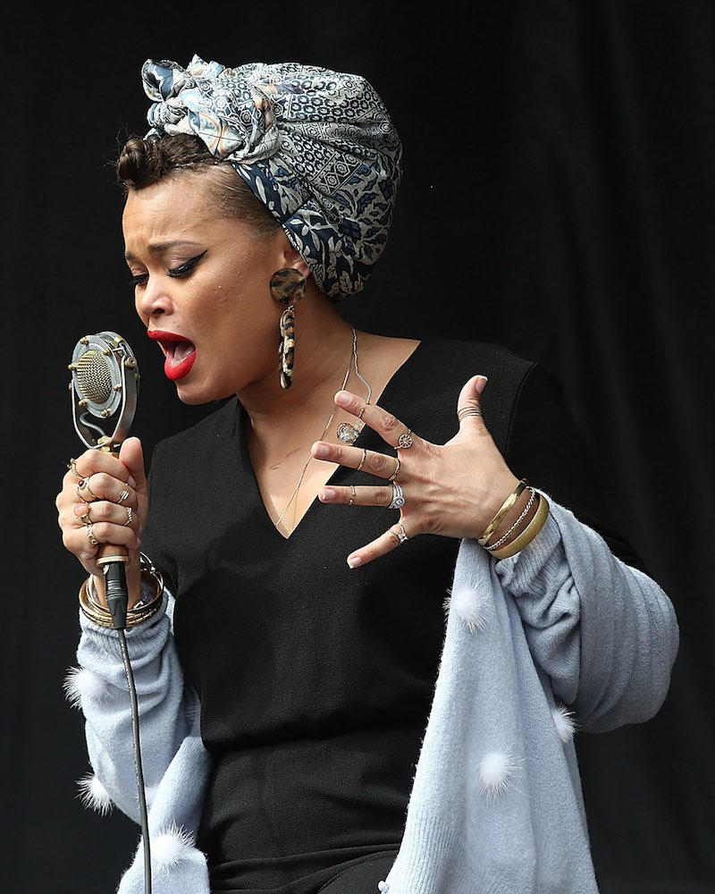 Rise Up Andra Day: ACL Review: Andra Day: R&B Queen Plies Some San Diego