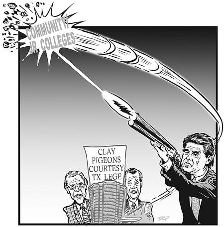 Gov Perrys Ham Fisted Veto Pen Strikes Again Lege Coverage News