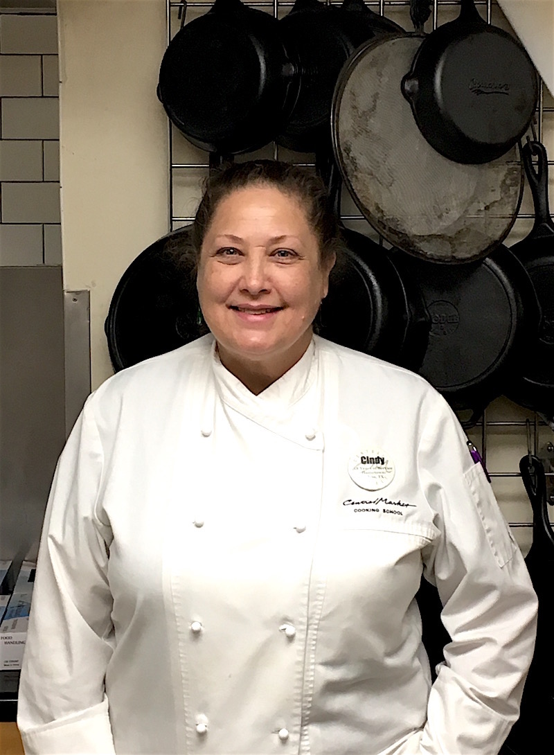 Central Markets Well Bladed Cindy Haenel Cutting Herself Free The Popular Chef Instructor Will Be Moving On By Years End