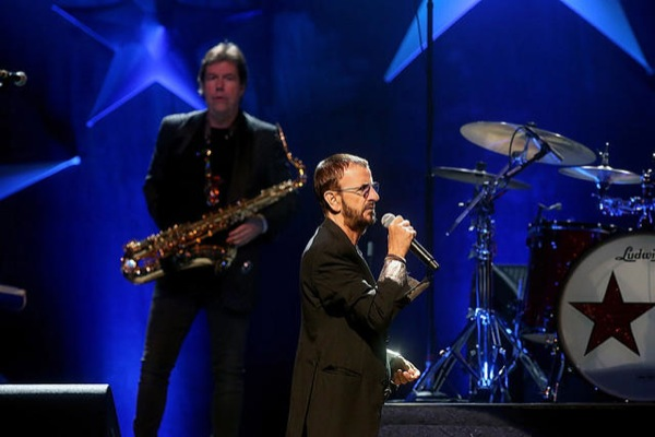 Ringo Starr's Still the Greatest: Beatle's All Starrs jukebox first