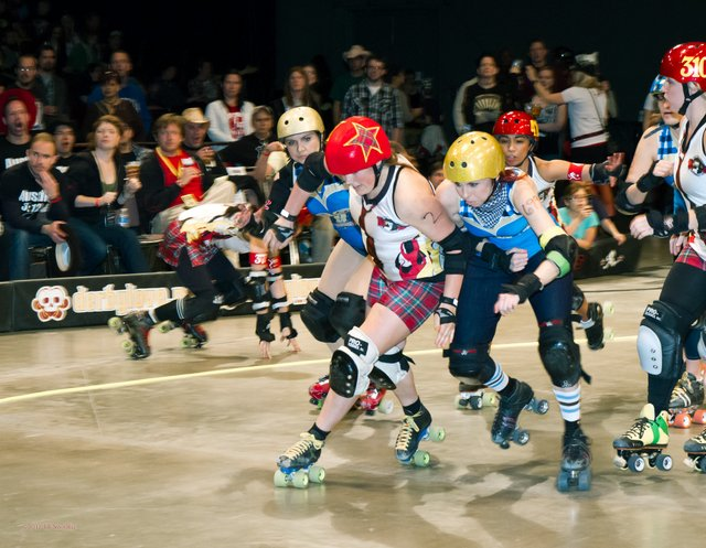 Texas Rollergirls say, you could unleash this.