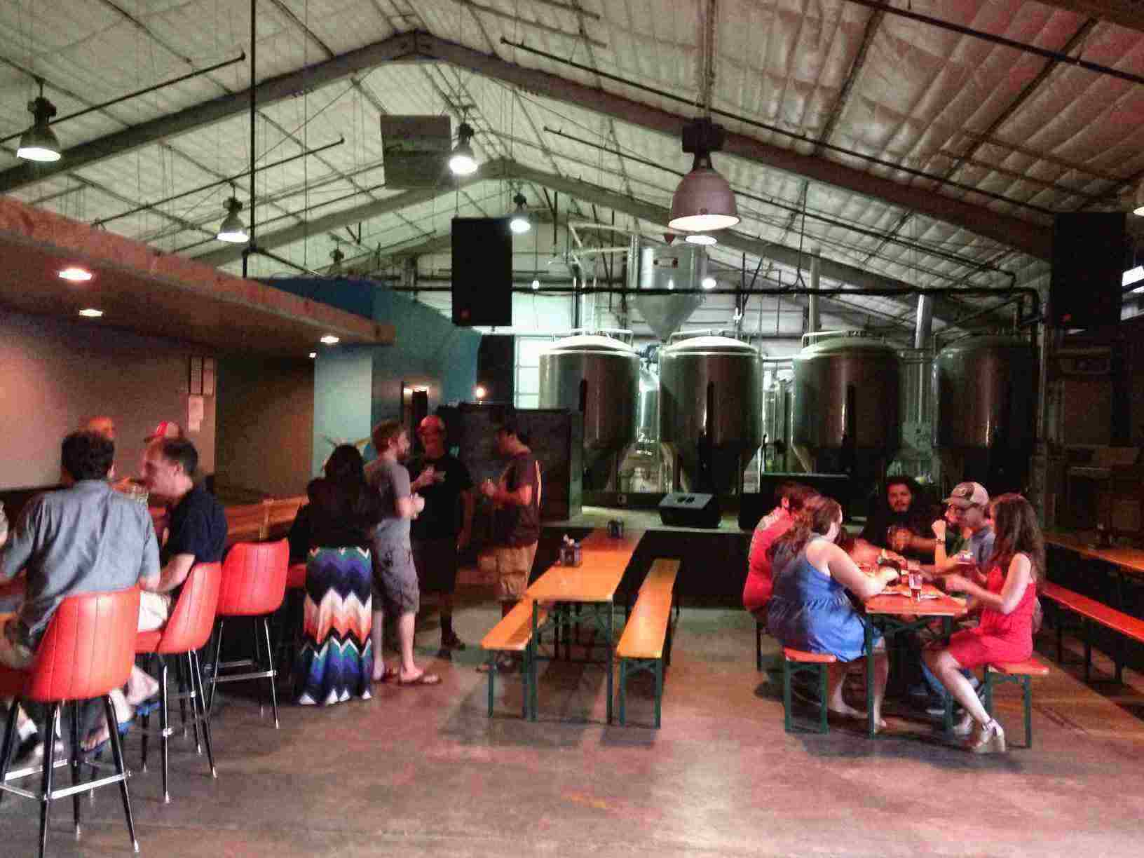 The ABGB Makes It Better Austin Beer Garden Brewing Co opens for