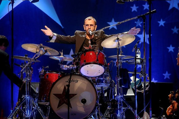 Give The Drummer Some Mr Peace Love Understanding Ringo Starr 74 Photo By Gary Miller