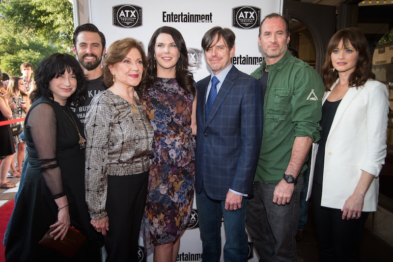 Atx Television Fest Gilmore Girls Reunion The Inhabitants Of Stars