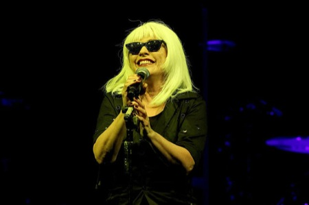 Blondie herself, Deborah Harry, leading the punk pioneers at the Moody Theater, 9.29.11