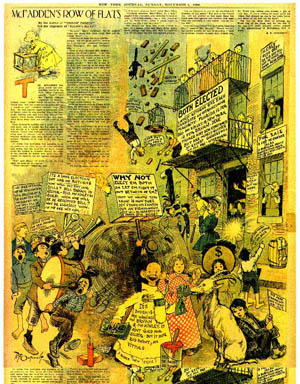 Triumph of the yellow kid comics are art spiegelman notes in his