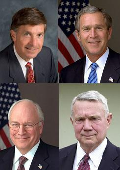 Funny thing is, Cheney doesn't look like the grumpiest one