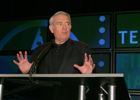 [image-1]  Emcee Dan Rather began the night by paying respect to longtime Hall of Fame host, the late Gov. Ann Richards