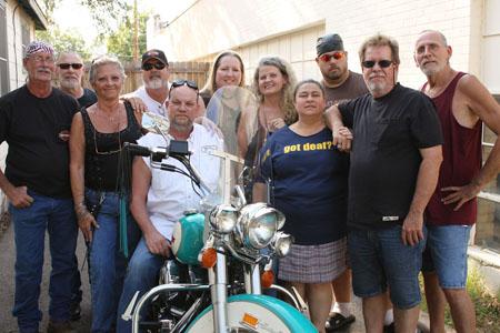 Biker s bunch group sex