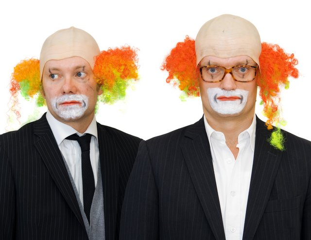 Casper Christensen and Frank Hvam: 'Klown'ing around