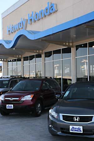 Howdy honda best car dealership best of austin 2008 for Honda dealer austin