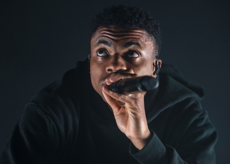 Vince Staples Pays Tribute to Mac Miller at Emo's: Compton