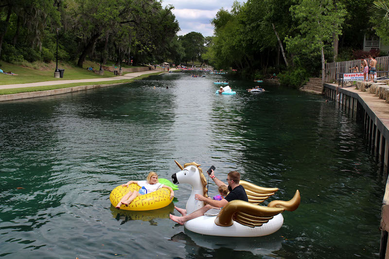 Floating Around the New Braunfels