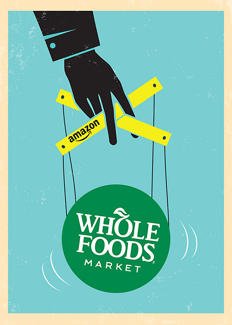 Illustration By Jason Stout Thinkstock When Amazon Acquired Whole Foods