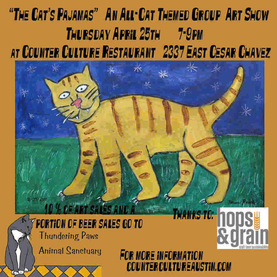 Cat art and craft beer and vegan bake sales oh my two for Art and craft shows in ohio