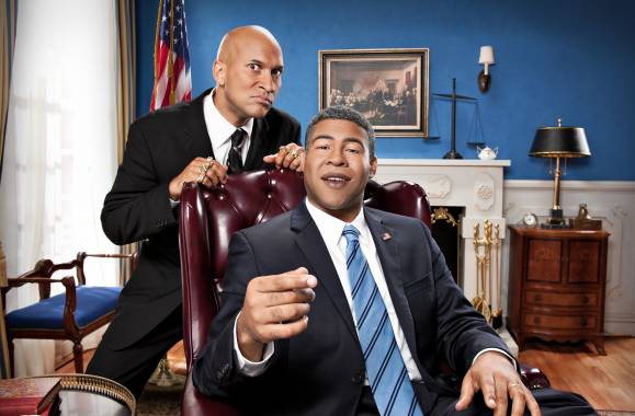 Keegan-Michael Key (left) and Jordan Peele