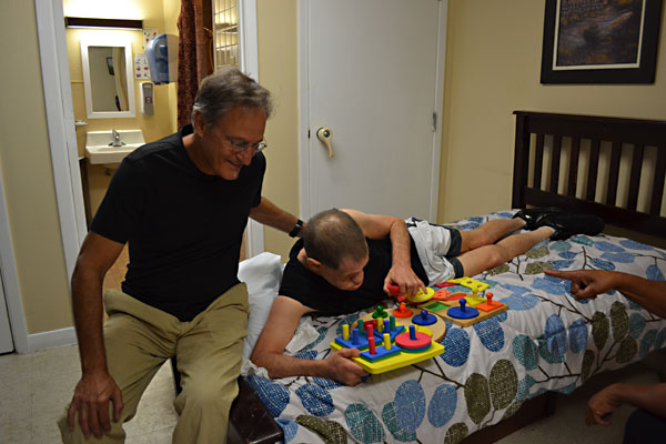Forrest Novy Visits His Brother, Wayne, Who Suffers From Behavioral And  Physical Challenges,