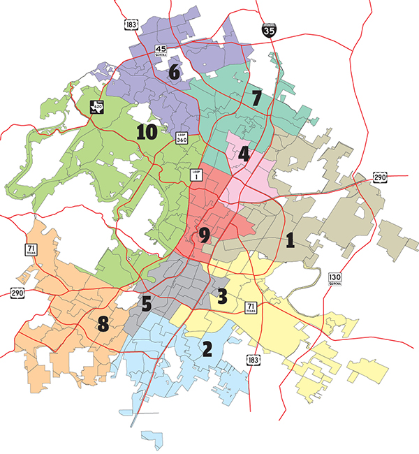 Austin District Map The More (Maps) the Merrier! A brief introduction to the ICRC's