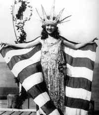 Margaret Gorman from Washington D.C., the first Miss America in 1921