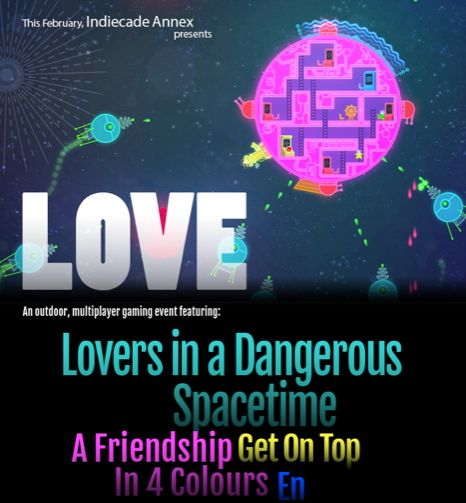 IndieCade Annex presents: LOVE!