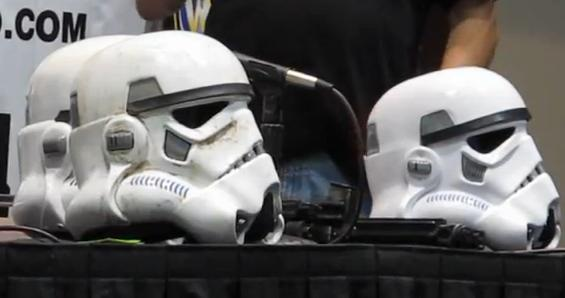 From the fans, for the fans: Handcrafted Imperial Stormtrooper helmets, built by members of the 501st Legion Star Wars costume group