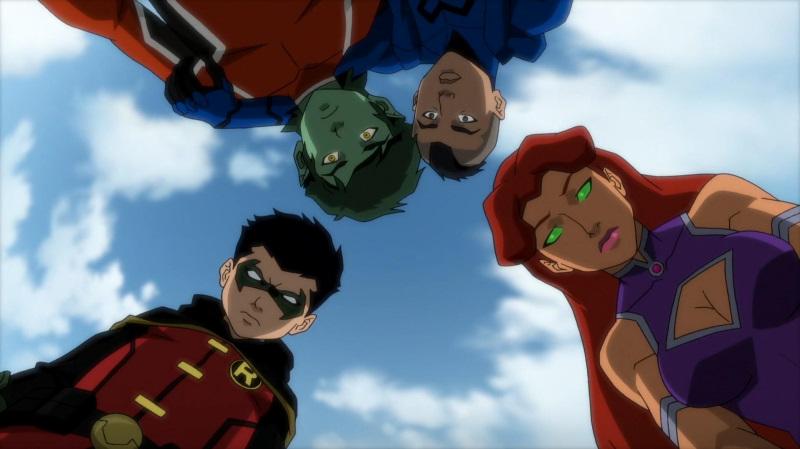 justice league vs teen titans online free