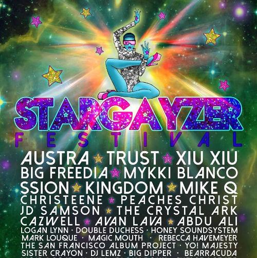 Stargayzer Fest Moves Downtown