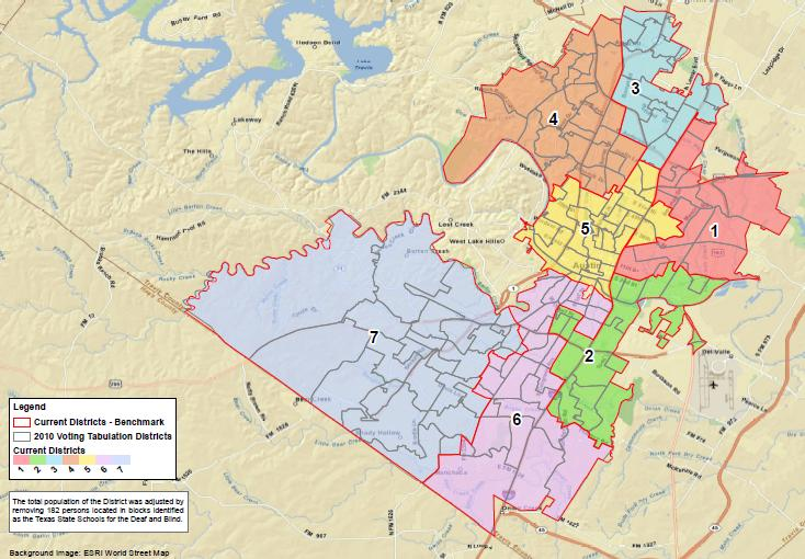 Austin Tx School District Map AISD Headed for Redistricting: Trustee boundaries need serious