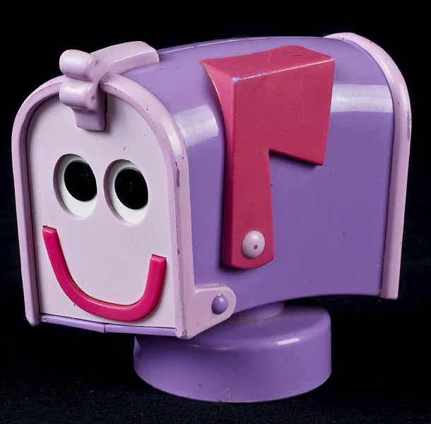 mailbox blues clues toy. Delighful Toy Tonight Mail Art With Dandy U0026 Friends Inside Mailbox Blues Clues Toy O