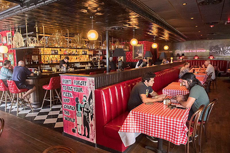 Restaurant Review Home Slice Pizza S New Location As Great